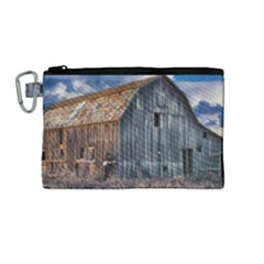 Banjo Player Outback Hill Billy Canvas Cosmetic Bag (medium)