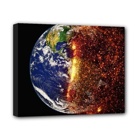 Climate Change Global Warming Canvas 10  X 8