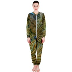 Rice Field China Asia Rice Rural Onepiece Jumpsuit (ladies)