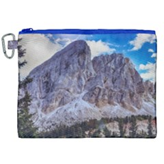 Rock Sky Nature Landscape Stone Canvas Cosmetic Bag (xxl)