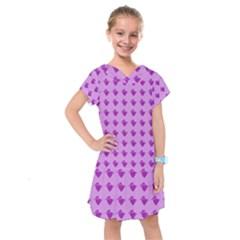 Punk Heart Violet Kids  Drop Waist Dress