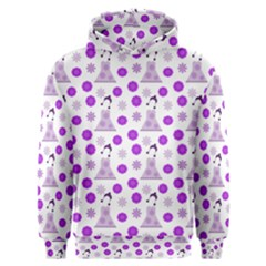 Lilac Dress On White Men s Overhead Hoodie