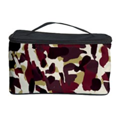Red Camo Cosmetic Storage Case