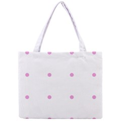 Pink Dots Mini Tote Bag