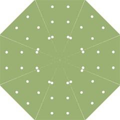 Olive Dots Folding Umbrellas