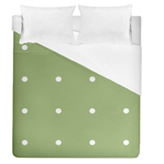 Olive Dots Duvet Cover (queen Size)