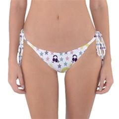 Music Stars Reversible Bikini Bottom