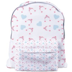 Pink Hats Giant Full Print Backpack