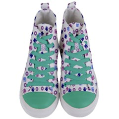 Milk And Donuts Women s Mid Top Canvas Sneakers