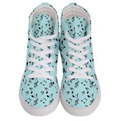 Blue Music Men s Hi Top Skate Sneakers