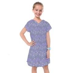 Winter Hats Blue Kids  Drop Waist Dress