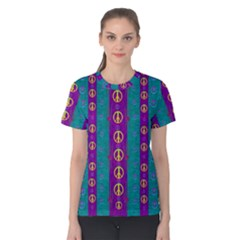 Peace Be With Us This Wonderful Year In True Love Women s Cotton Tee
