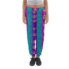 Peace Be With Us This Wonderful Year In True Love Women s Jogger Sweatpants