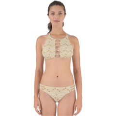 Winter Hats Beige Perfectly Cut Out Bikini Set