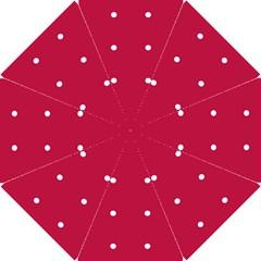Red Dot Hook Handle Umbrellas (small)