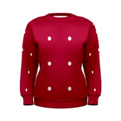 Red Dot Women s Sweatshirt