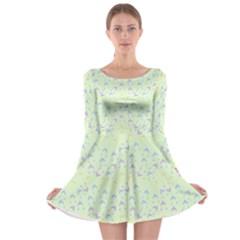 Minty Hats Long Sleeve Skater Dress