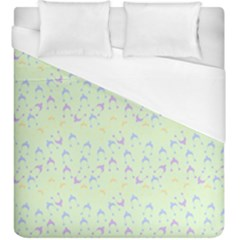 Minty Hats Duvet Cover (king Size)