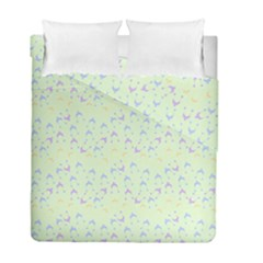 Minty Hats Duvet Cover Double Side (full/ Double Size)
