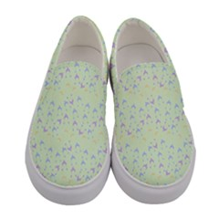Minty Hats Women s Canvas Slip Ons