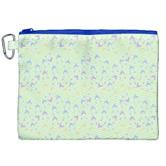 Minty Hats Canvas Cosmetic Bag (xxl)