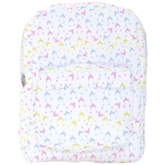 Pastel Hats Full Print Backpack