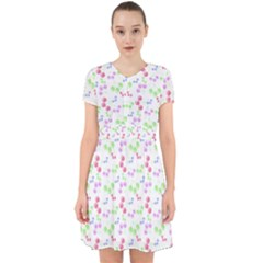 Candy Cherries Adorable In Chiffon Dress