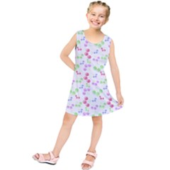 Candy Cherries Kids  Tunic Dress