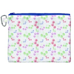 Candy Cherries Canvas Cosmetic Bag (xxl)