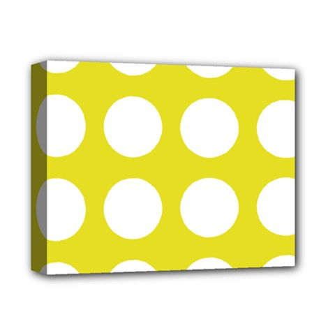 Big Dot Yellow Deluxe Canvas 14  X 11