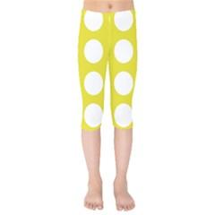 Big Dot Yellow Kids  Capri Leggings