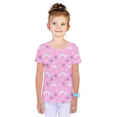 Music Star Pink Kids  One Piece Tee