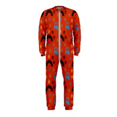 Music Stars Red Onepiece Jumpsuit (kids)