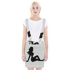 Girls Of Fitness Braces Suspender Skirt