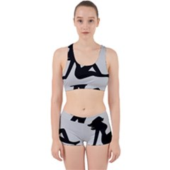 Girls Of Fitness Work It Out Sports Bra Set