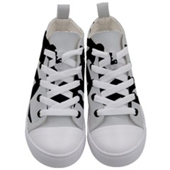 Girls Of Fitness Kid s Mid Top Canvas Sneakers