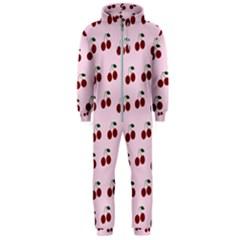 Pink Cherries Hooded Jumpsuit (men)