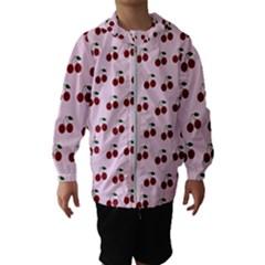 Pink Cherries Hooded Wind Breaker (kids)
