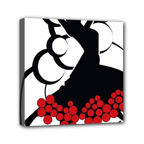 Flamenco Dancer Canvas Travel Bag