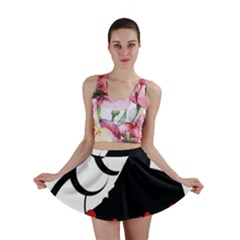 Flamenco Dancer Mini Skirt