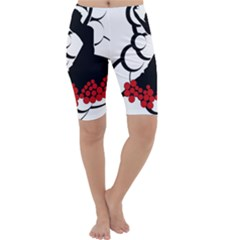 Flamenco Dancer Cropped Leggings