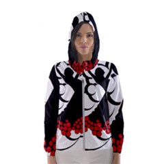 Flamenco Dancer Hooded Wind Breaker (women)