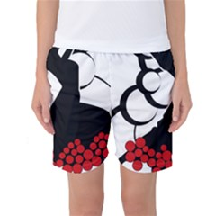 Flamenco Dancer Women s Basketball Shorts