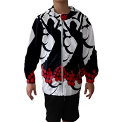 Flamenco Dancer Hooded Wind Breaker (kids)