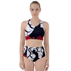 Flamenco Dancer Racer Back Bikini Set