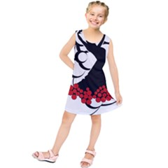 Flamenco Dancer Kids  Tunic Dress