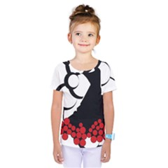 Flamenco Dancer Kids  One Piece Tee
