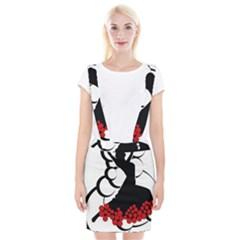 Flamenco Dancer Braces Suspender Skirt