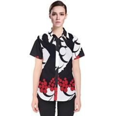 Flamenco Dancer Women s Short Sleeve Shirt