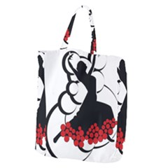 Flamenco Dancer Giant Grocery Zipper Tote